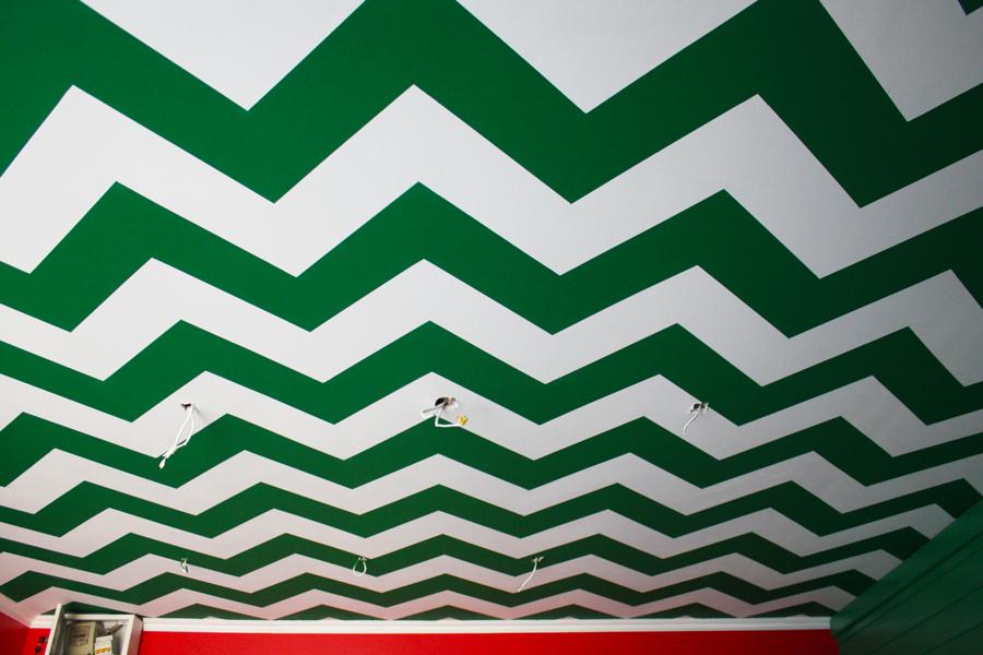 Декоративная роспись потолка