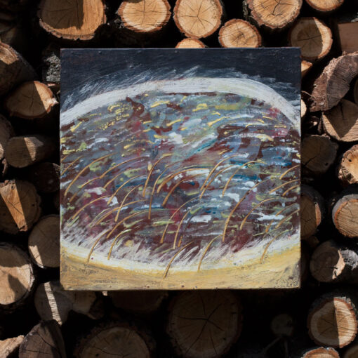 Картина Зимнее озеро