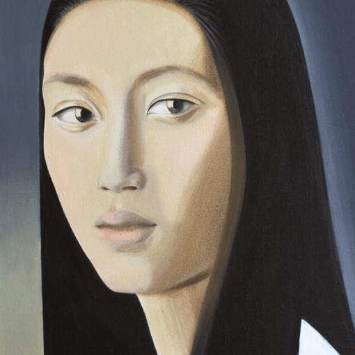 Картина Портрет японки