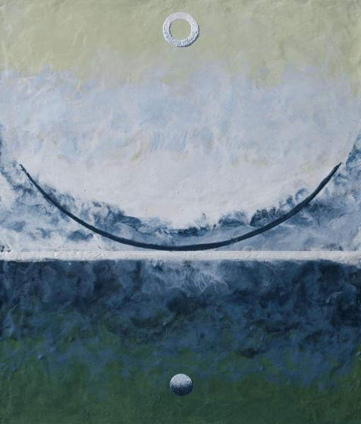 Картина Баланс в синем